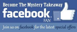 Facebook page for Themysterytakeaway restaurant